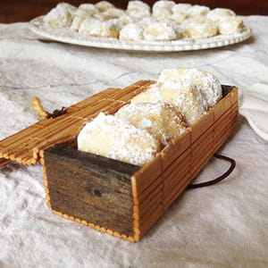 biscuits à la vanille kipferl