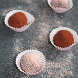truffes au chocolat inratables