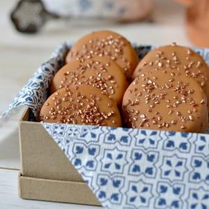 biscuits sablés à la crème de marron