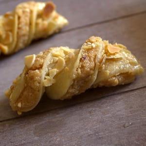 cravates algériennes, biscuits aux amandes