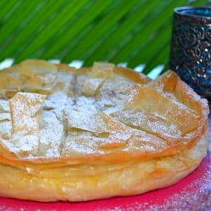 galette des rois orientale au litchis et noix de coco