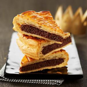 galette des rois à la frangipane et chocolat