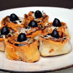 pizza rolls au chorizo