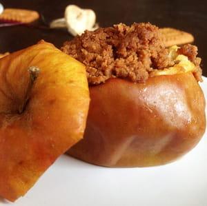 crumble pomme, poire et spéculoos