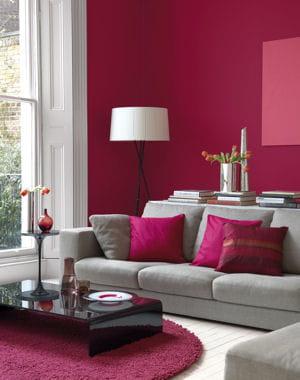 10 peinture tendance pour changer de d cor couleur fruit e for Chambre couleur framboise