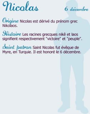 prenom nicolas et les femmes