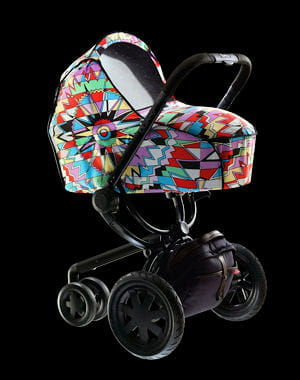 poussette buzz dreami pram body