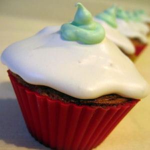 cupcakes sans gluten au coco et pandan