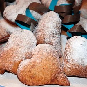 beignets aux amandes