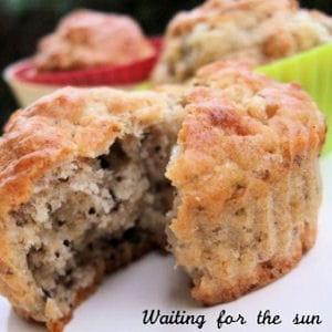 muffins noix et gorgonzola
