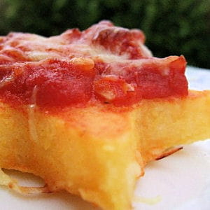 etoiles de polenta gratinées