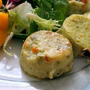mufflines de légumes