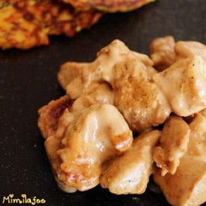 poulet épicé et douceurs légumières