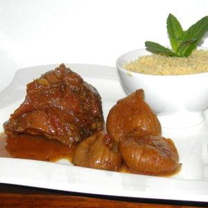 jarret de veau aux épices