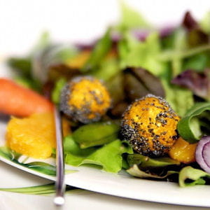 salade contrastes en harmonie