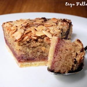 tarte bakewell (amandes et framboises)