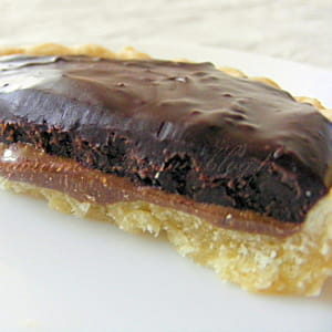 tartelettes choco-caramel, noix et noisettes