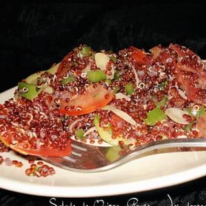 salade de quinoa rouge