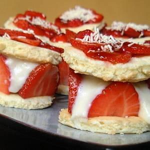 mini fraisier régime