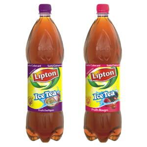 lipton ice tea fruits rouges et fruits exotiques