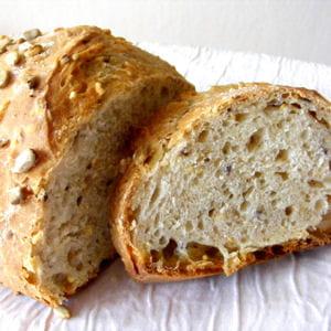 pain aux céréales et tournesol au levain déshydraté