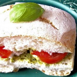 ciabatta tomate-mozzarella