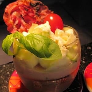 verrine glacée à la tomate