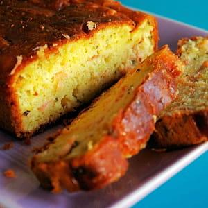 cake au citron et au saumon