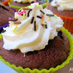 cupcakes choco-amandes