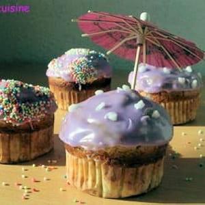 cupcakes saveur cassis