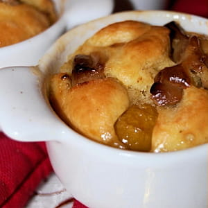 mignardises au foie gras et aux mirabelles
