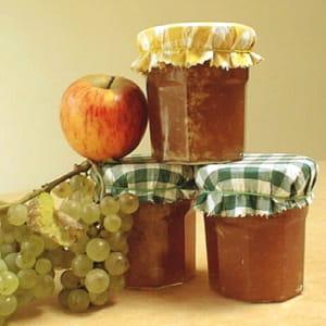 mi-confiture mi-gelée de pommes et raisin