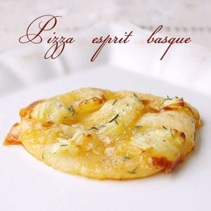 mini pizza esprit basques