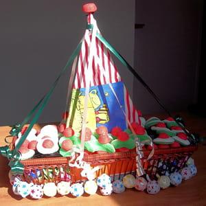 gâteau 'bateau-pirate'