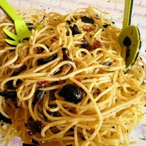 spaghetti froids à l'italienne