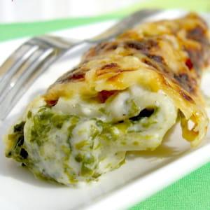 cannelloni ricotta-épinard