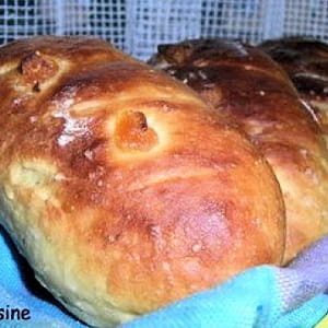 petits pains au lait, abricot et figue