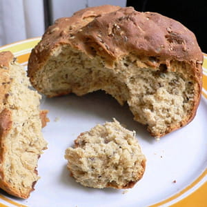 pain à la farine de quinoa
