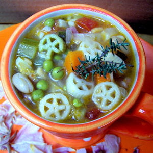 minestrone d'automne