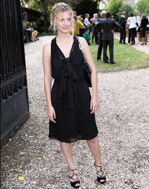 melanie laurent au dfil miu miu le 7 octobre 2009  paris 