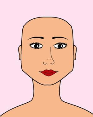 Coiffure le visage carr coiffure quelle coupe pour mon visage journal des femmes - Coiffure femme visage carre ...