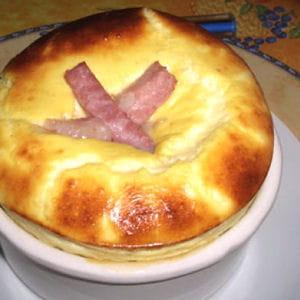 gratin de jambon au fromage blanc