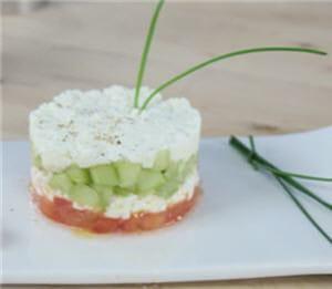 Concombre et tomates pour une entr e tr s fra che 30 for Entree fraiche et rapide