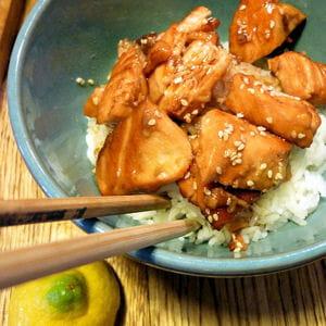 saumon façon japonaise