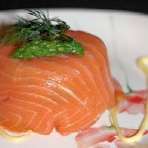 charlotte aux deux saumons