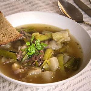 soupe de confit de canard