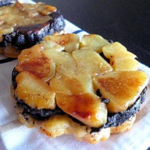 tatins boudin noir aux pommes