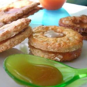 biscuits fourrés au caramel