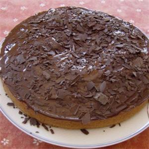 gâteau au chocolat sans œufs.