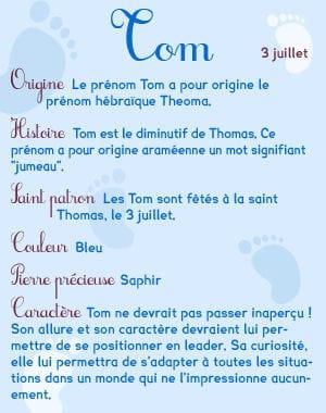 Tom Prenom